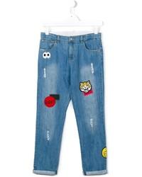 Детские синие джинсы для девочке от Stella McCartney