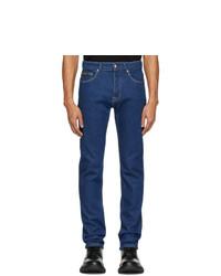 Мужские синие джинсы от VERSACE JEANS COUTURE