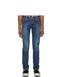 Мужские синие джинсы от VISVIM