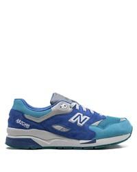 Мужские синие замшевые кроссовки от New Balance