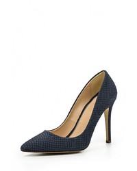Синие замшевые туфли от Versace 19.69
