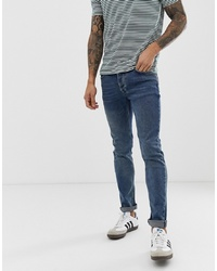 Мужские синие зауженные джинсы от Bolongaro Trevor