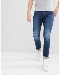 Мужские синие зауженные джинсы от Esprit