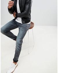 Мужские синие зауженные джинсы от G Star