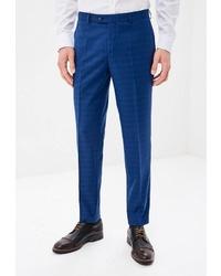 Мужские синие классические брюки от Absolutex