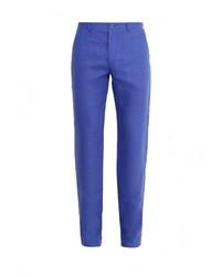 Мужские синие классические брюки от Berkytt