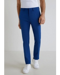 Мужские синие классические брюки от Mango Man