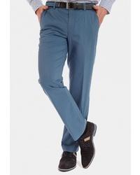 Мужские синие классические брюки от MEYER