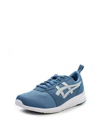 Мужские синие кожаные кроссовки от ASICSTiger