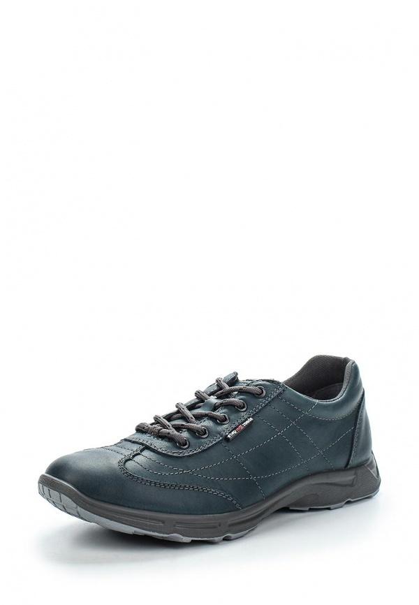 Мужские синие кожаные кроссовки от S-tep