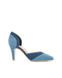 Синие кожаные туфли от GUILD PRIME