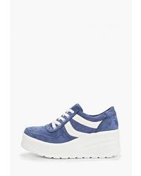 Женские синие кроссовки от Vivian Royal