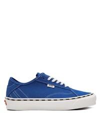 Мужские синие низкие кеды от Vans