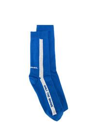 Мужские синие носки от Diesel