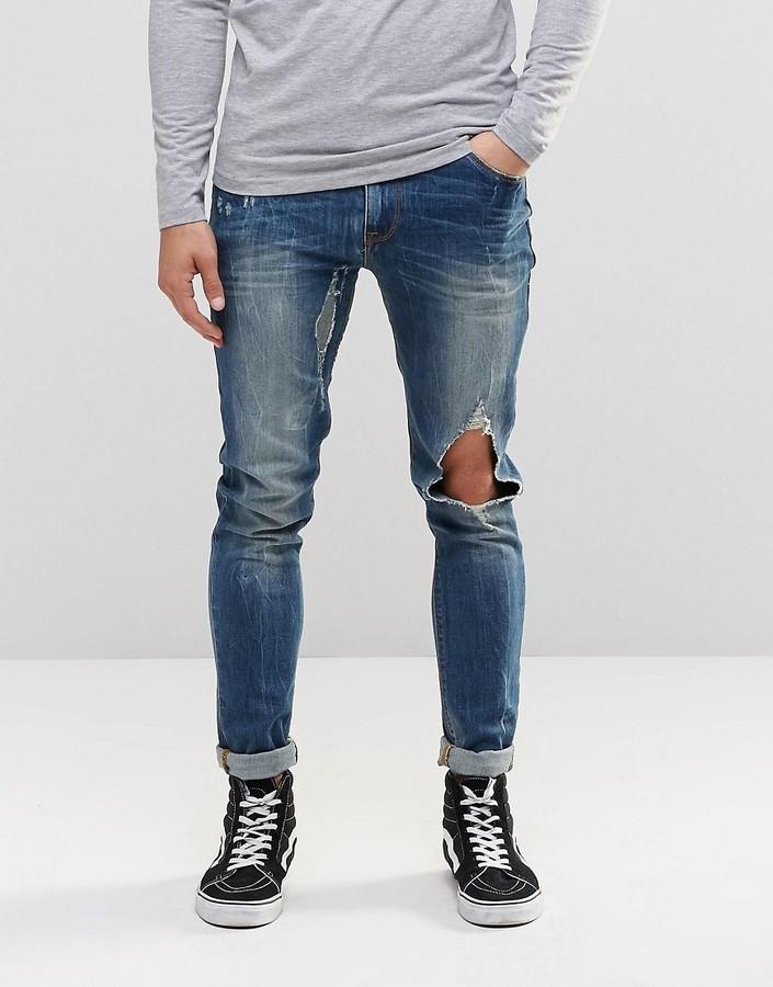 Mens Jeans  Denim Skinny amp Ripped Jeans For Men  nextcouk