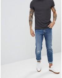 Мужские синие рваные джинсы от Esprit
