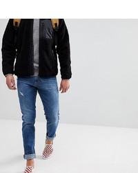 Мужские синие рваные джинсы от Just Junkies