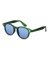 Мужские синие солнцезащитные очки от Asos
