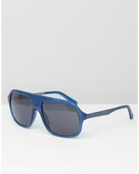 Мужские синие солнцезащитные очки от Calvin Klein