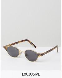 Мужские синие солнцезащитные очки от Reclaimed Vintage