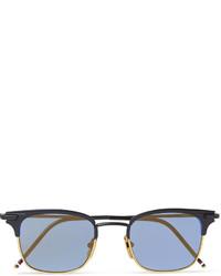 Мужские синие солнцезащитные очки от Thom Browne