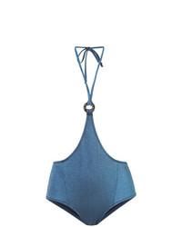 Синие трусики бикини от Morgan Lane