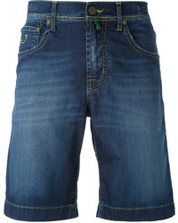 Мужские синие хлопковые шорты от Jacob Cohen