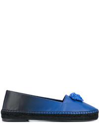Женские синие эспадрильи от Versace