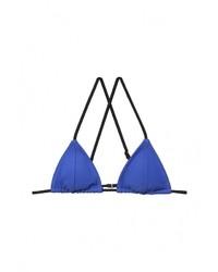 Синий бикини-топ от Topshop