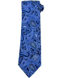 "Синий галстук с ""огурцами"""