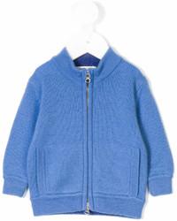 Детский синий кардиган для мальчику