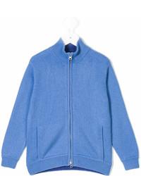 Детский синий кардиган для мальчиков