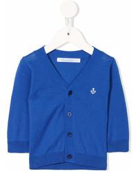 Детский синий кардиган для мальчиков от Familiar