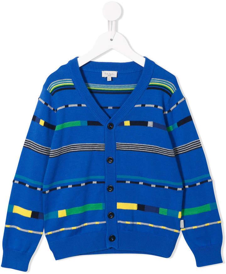 Детский синий кардиган для мальчиков от Paul Smith
