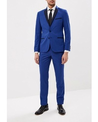 Синий костюм от Absolutex