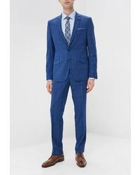 Синий костюм от Bazioni