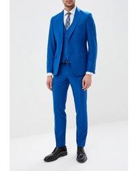 Синий костюм от Brinardelli