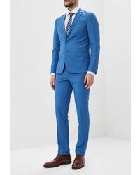 Синий костюм от Patrikman