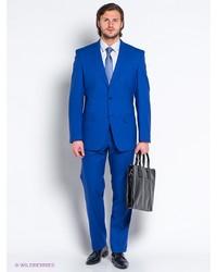 Мужской синий костюм от Slava Zaitsev