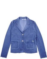 Синий пиджак