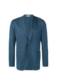 Мужской синий пиджак от Boglioli