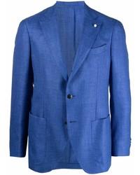 Мужской синий пиджак от Luigi Bianchi Mantova