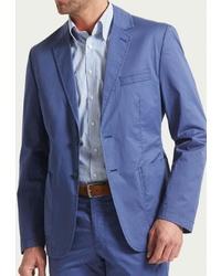 Мужской синий пиджак от W.Wegener