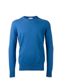 Мужской синий свитер с круглым вырезом от Ballantyne
