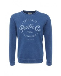 Мужской синий свитер с круглым вырезом от BLEND