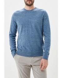 Мужской синий свитер с круглым вырезом от Gap
