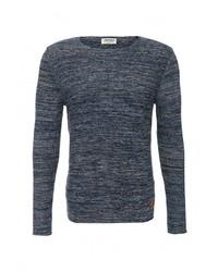 Мужской синий свитер с круглым вырезом от Jack & Jones