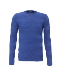 Мужской синий свитер с круглым вырезом от Liu Jo Uomo