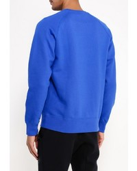 Мужской синий свитер с круглым вырезом от Nike