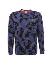 Мужской синий свитер с круглым вырезом от Reebok Classics